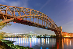 Hell Gate Bridge - New York City Royalty Free Stock Photography