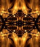 Fire pattern Stock Image