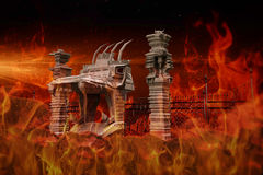 Hell gate Royalty Free Stock Photography