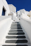 Hell gemalte Treppen Lizenzfreie Stockfotografie