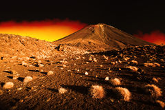 Hell Landscape Royalty Free Stock Image