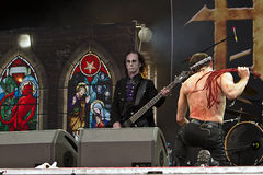 Hell (metal band). Hell on Masters of Rock 2012 Stock Images