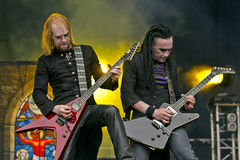 Hell (metal band). Hell on Masters of Rock 2012 Stock Photography