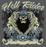 Hell rider Stock Photo