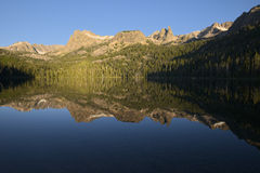 Hell Roaring Lake, Idaho Royalty Free Stock Photos