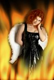 Hell's angel Royalty Free Stock Photography