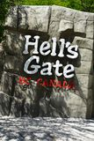 Hell`s gate fraser canyon royalty free stock photos