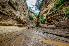 Hell's Gate in Kenya, Africa Royalty Free Stock Photo