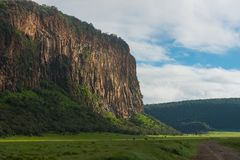 Hell`s Gate National Park stock photography