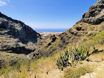 Hell's Gorge on Tenerife Stock Image