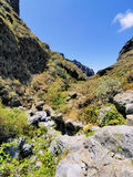 Hell's Gorge on Tenerife Stock Images
