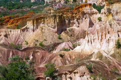 The Hell's Kitchen, Marafa Canyon, Kenya Stock Photo