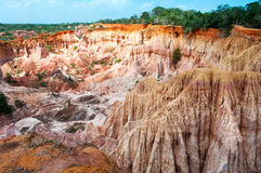 The Hell's Kitchen, Marafa Canyon Stock Image