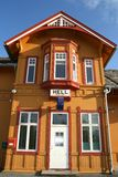 Hell Station. Hell railway station in the village Hell near Trondheim Norway Stock Photo
