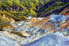 Hell Valley Japan Royalty Free Stock Image