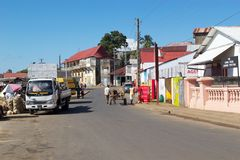 Hell Ville, Madagascar Royalty Free Stock Images