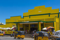 Hell Ville market building, Nosy Be Royalty Free Stock Photo