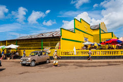 Hell Ville market, Nosy Be, Madagascar Royalty Free Stock Image