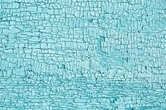 Hellblaue Beschaffenheit der alten gebrochenen Farbe Lizenzfreies Stockbild