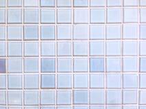 Hellblaue Fliesen Stockfoto