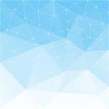Hellblauer abstrakter Hintergrund Lizenzfreie Stockfotografie