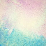 Hellblauer gemalter Aquarellhintergrund Stockbild