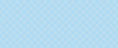 Hellblaues nahtloses Muster Dekorativer Hintergrund für Weihnachtskindische Partei vektor abbildung