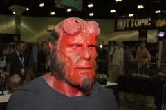 Hellboybeeldhouwwerk Stock Afbeelding