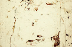 Hellbraune grunge Betonmauer stockbild