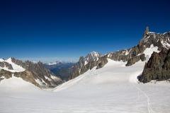 Hellbronner poitsikt - Mont Blanc Royaltyfri Foto