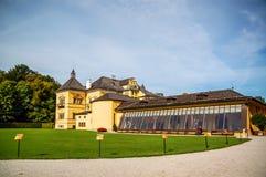 Hellbrunn城堡 库存照片