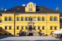 Hellbrunn宫殿庭院公园在萨尔茨堡 免版税库存照片