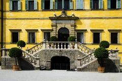 Hellbrunn-Balkon stockfoto
