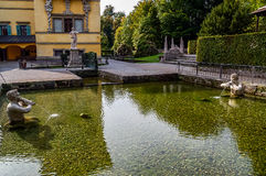 Hellbrunn castle Royalty Free Stock Photos