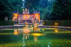 Hellbrunn Palace, near Salzburg, Austria. Royalty Free Stock Images