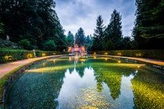 Hellbrunn Palace, near Salzburg, Austria. Royalty Free Stock Photography