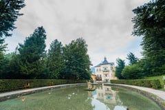 Hellbrunn Palace, near Salzburg, Austria. Royalty Free Stock Image