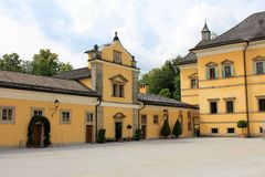 Hellbrunn Palace Royalty Free Stock Image
