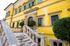 Hellbrunn-Palast in Salzburg, Österreich stockfotografie