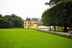 Hellbrunn-Palast in Salzburg, Österreich stockfotos