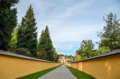 Hellbrunn-Schloss Stockfotografie
