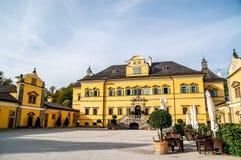 Hellbrunn slott Arkivfoton