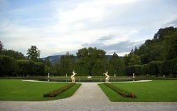 hellbrunnpark Arkivfoto