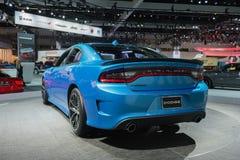 Hellcat för Dodge uppladdare SRT på skärm Royaltyfri Foto