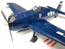 Hellcat Fighter Scale Model Royalty Free Stock Photography