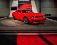 Hellcat Herausforderer SRT (Dodge) Lizenzfreie Stockbilder