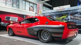 Hellcat van Dodge Eiser bij SEMA Stock Afbeelding