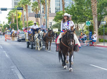 Helldorado days parade Royalty Free Stock Image