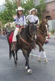 Helldorado days parade Stock Image