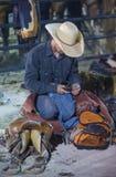 Helldorado days Rodeo Stock Images